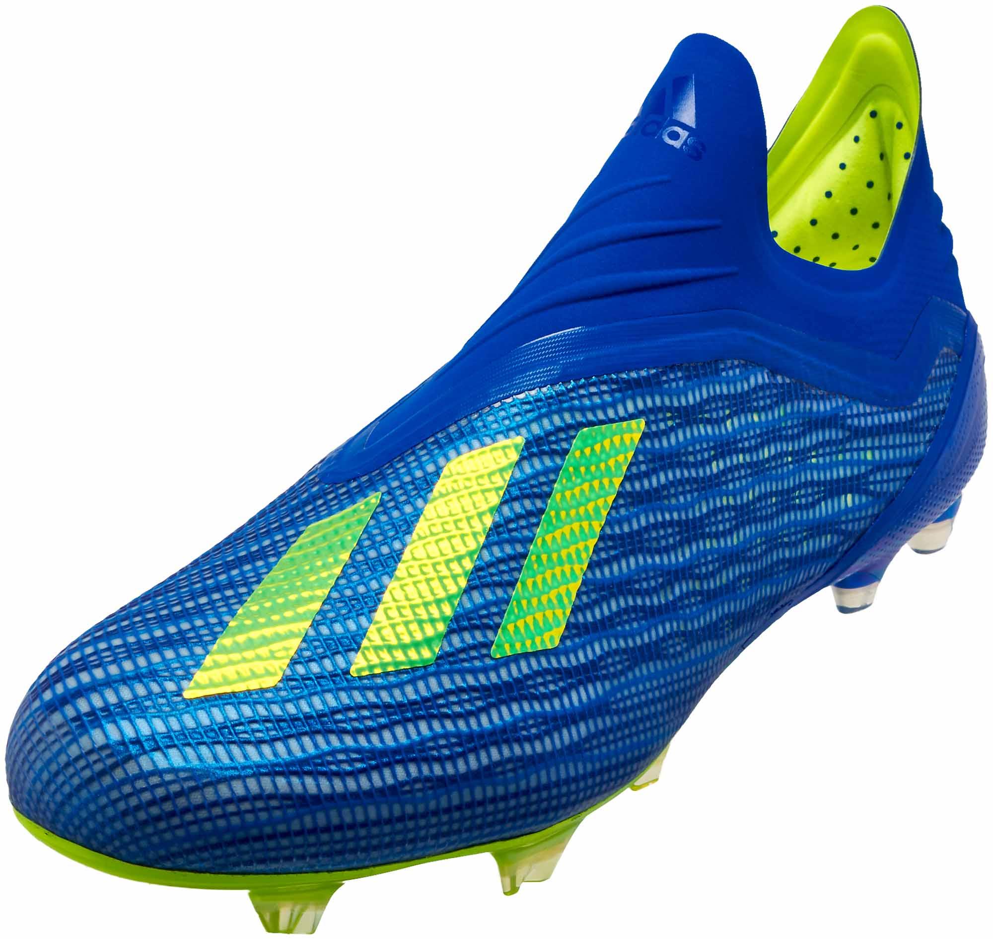 quality design 85604 82f7a adidas X 18+ FG – Football Blue Solar Yellow Black