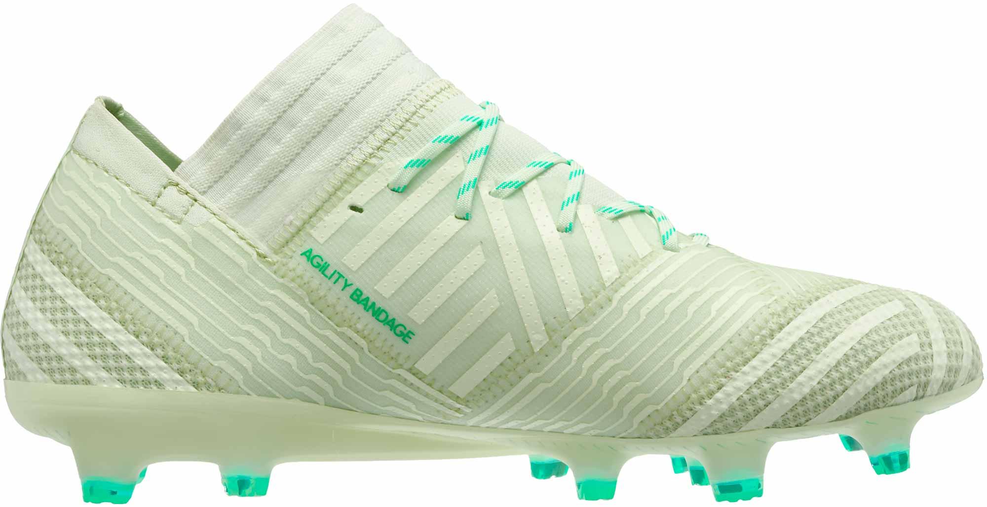 803d49971 adidas Nemeziz 17.1 FG - Aero Green   Hi-Res Green - Soccer Master