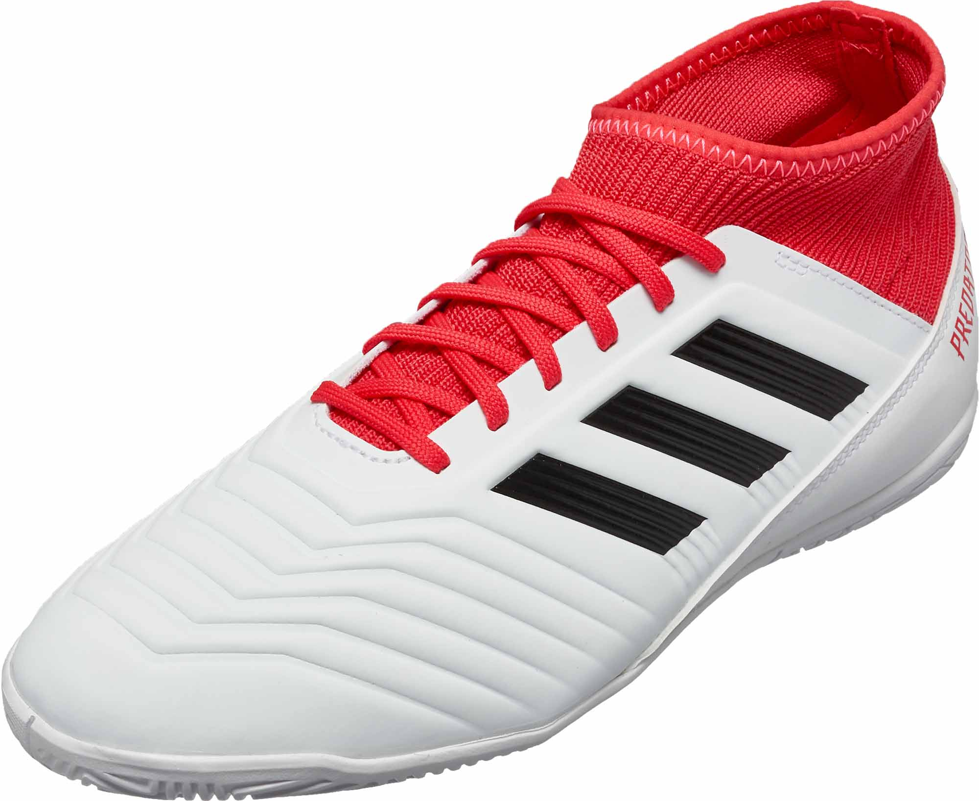 c0e59198c8b7 adidas Kids Predator Tango 18.3 IN - White   Real Coral - Soccer Master
