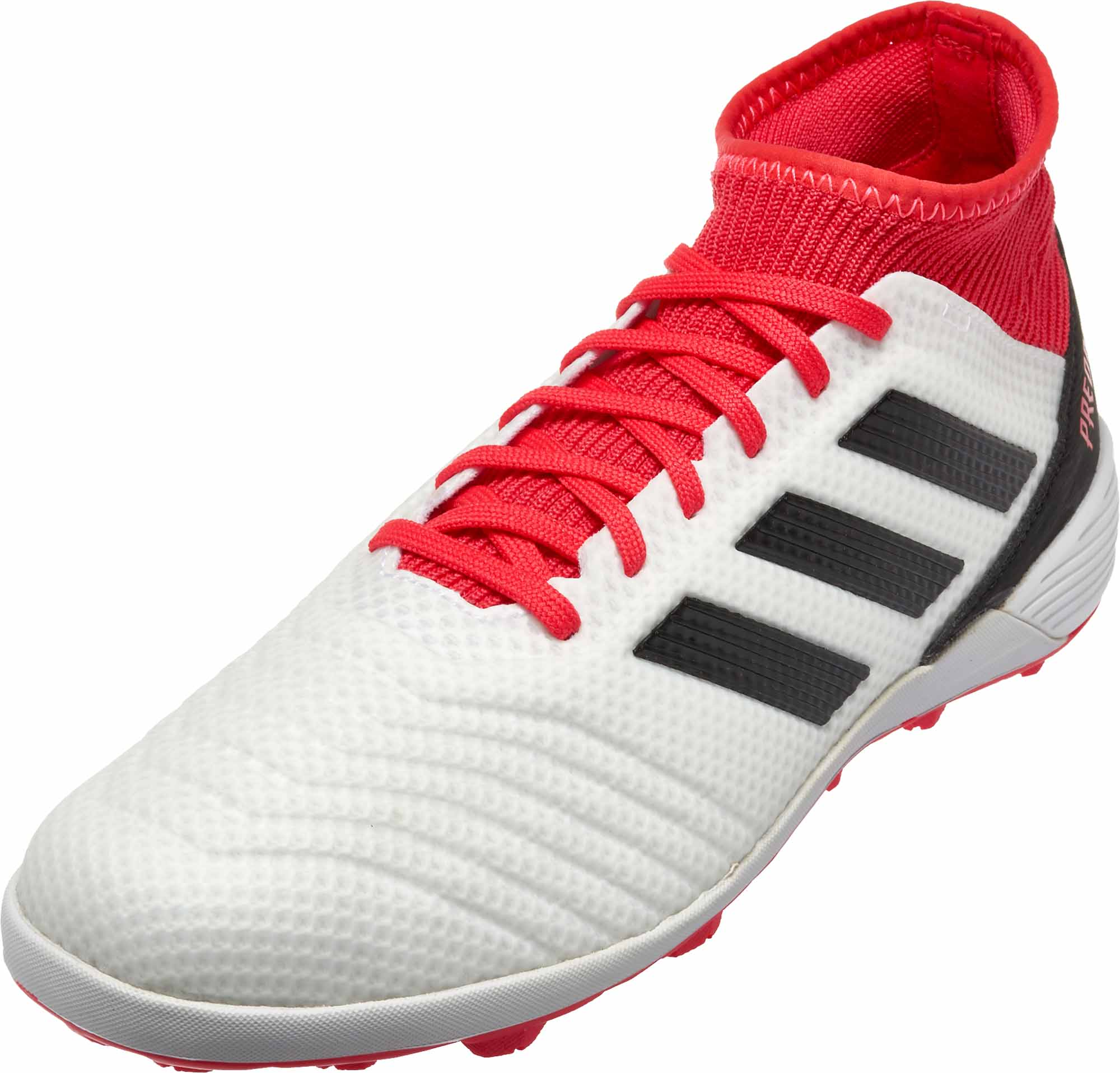 buy popular 21399 2195c adidas Predator Tango 18.3 TF – White   Real Coral