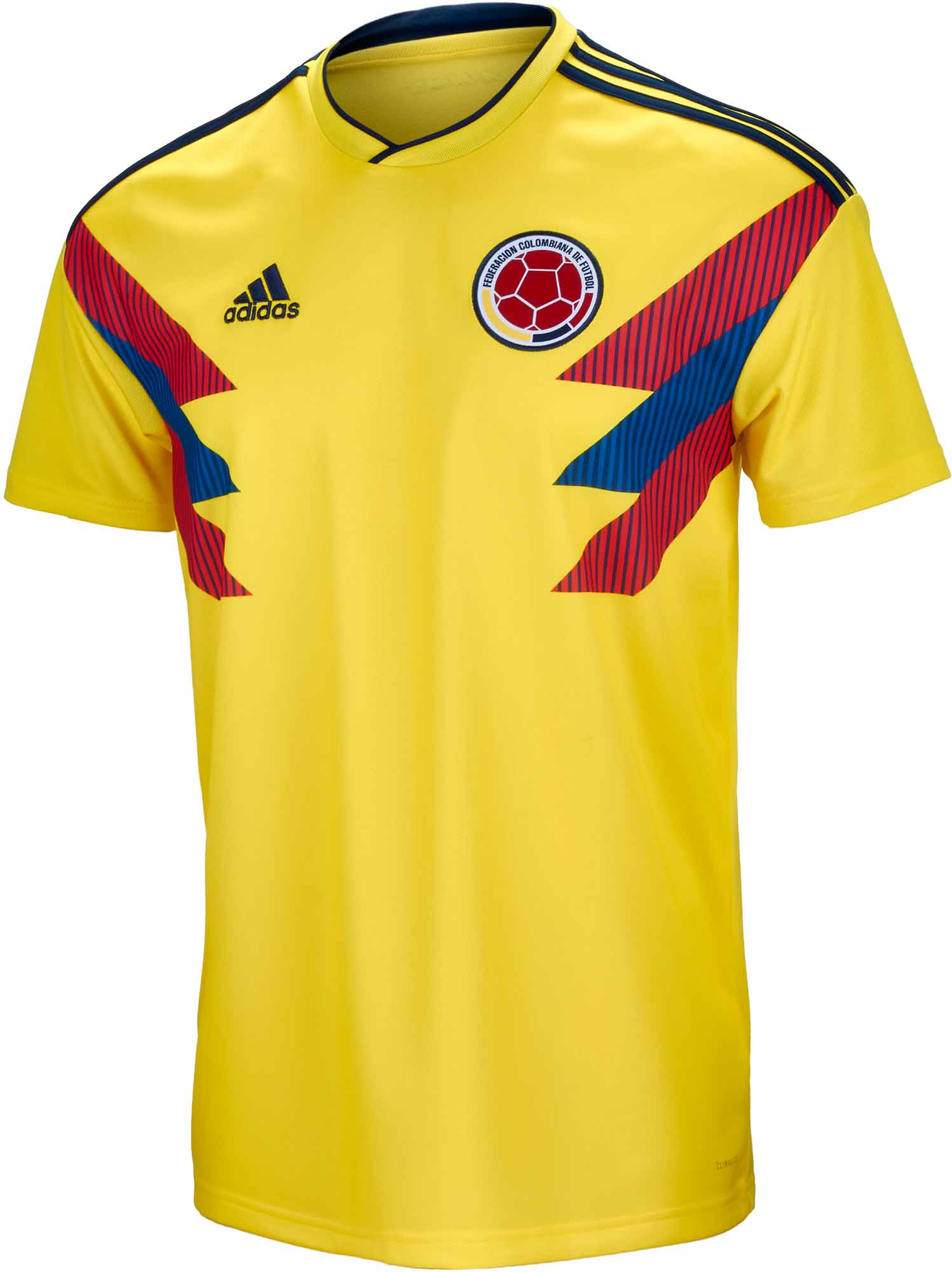 brand new 51549 213d8 2018/19 adidas Colombia Home Jersey