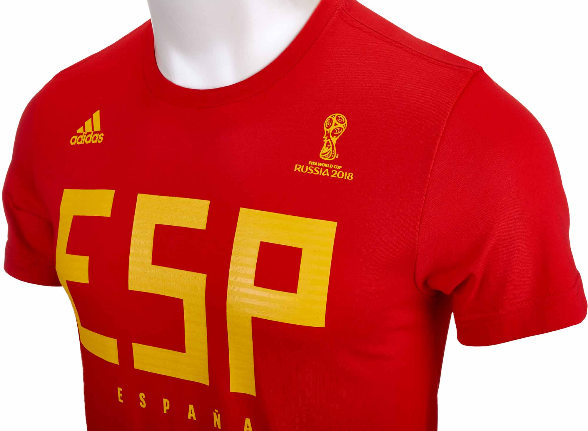 info for 21559 f64b2 adidas Spain Tee - Red - Soccer Master