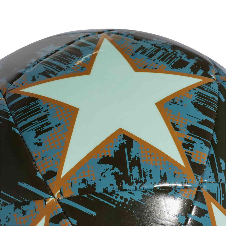 trimestre Concesión Alrededores  adidas Finale 18 Capitano Soccer Ball - Clear Mint/Night Cargo/Raw  Desert/Raw Green - Soccer Master