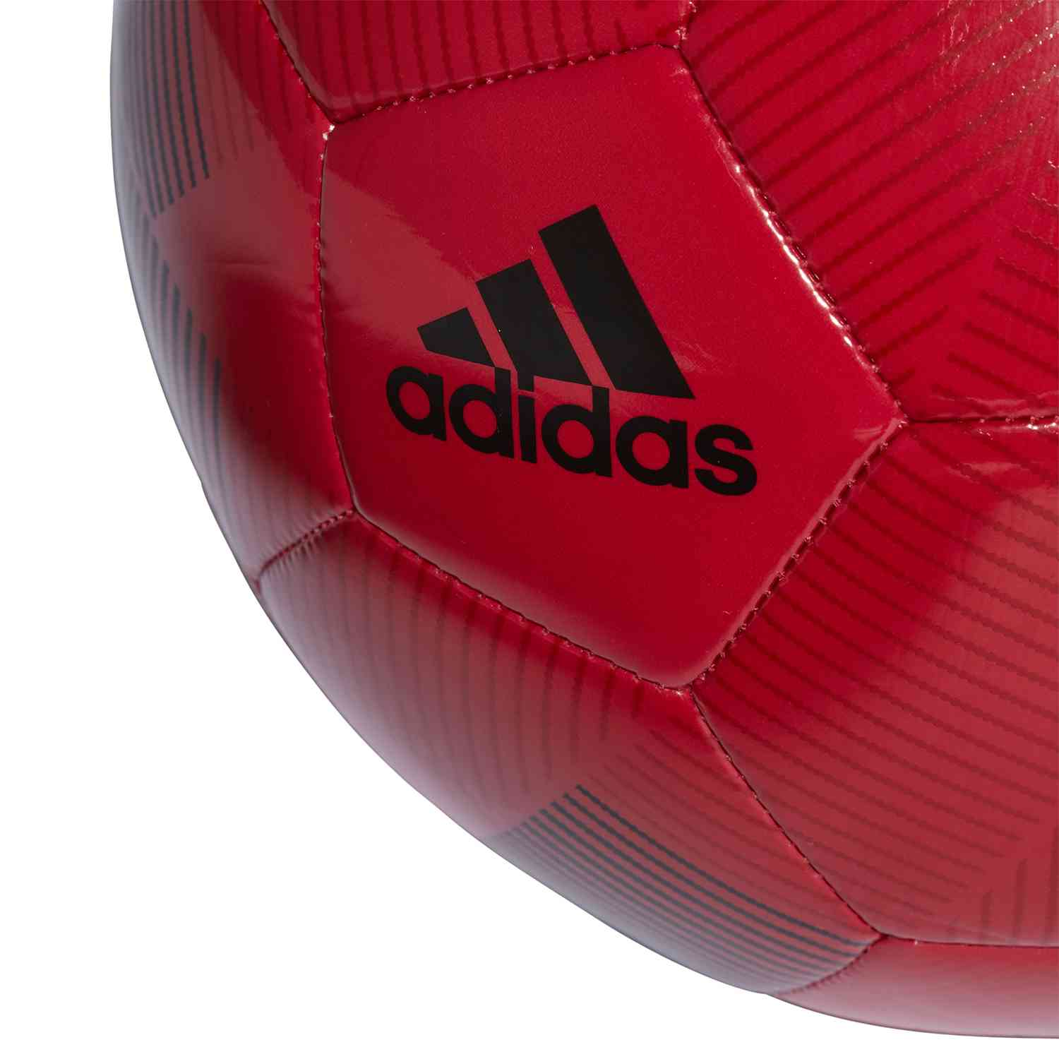 Adidas Manchester United Soccer Ball Real Red Black Soccer Master