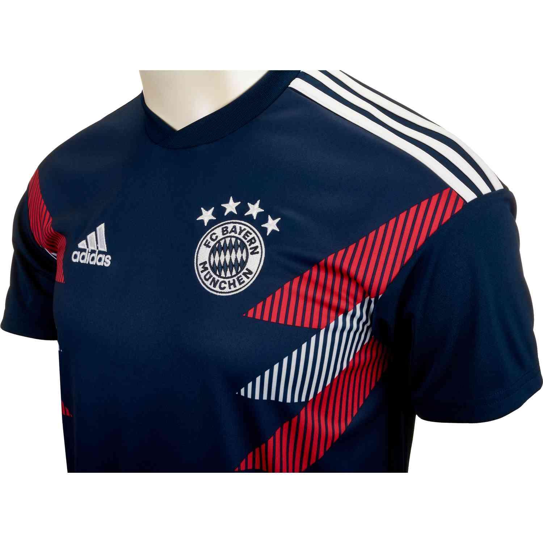 the best attitude 98015 029f5 adidas Bayern Munich Home Pre Match Jersey 2018-19 - Soccer Master