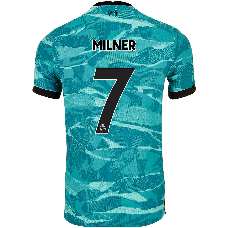 2020/21 James Milner Liverpool Away Match Jersey - Soccer Master