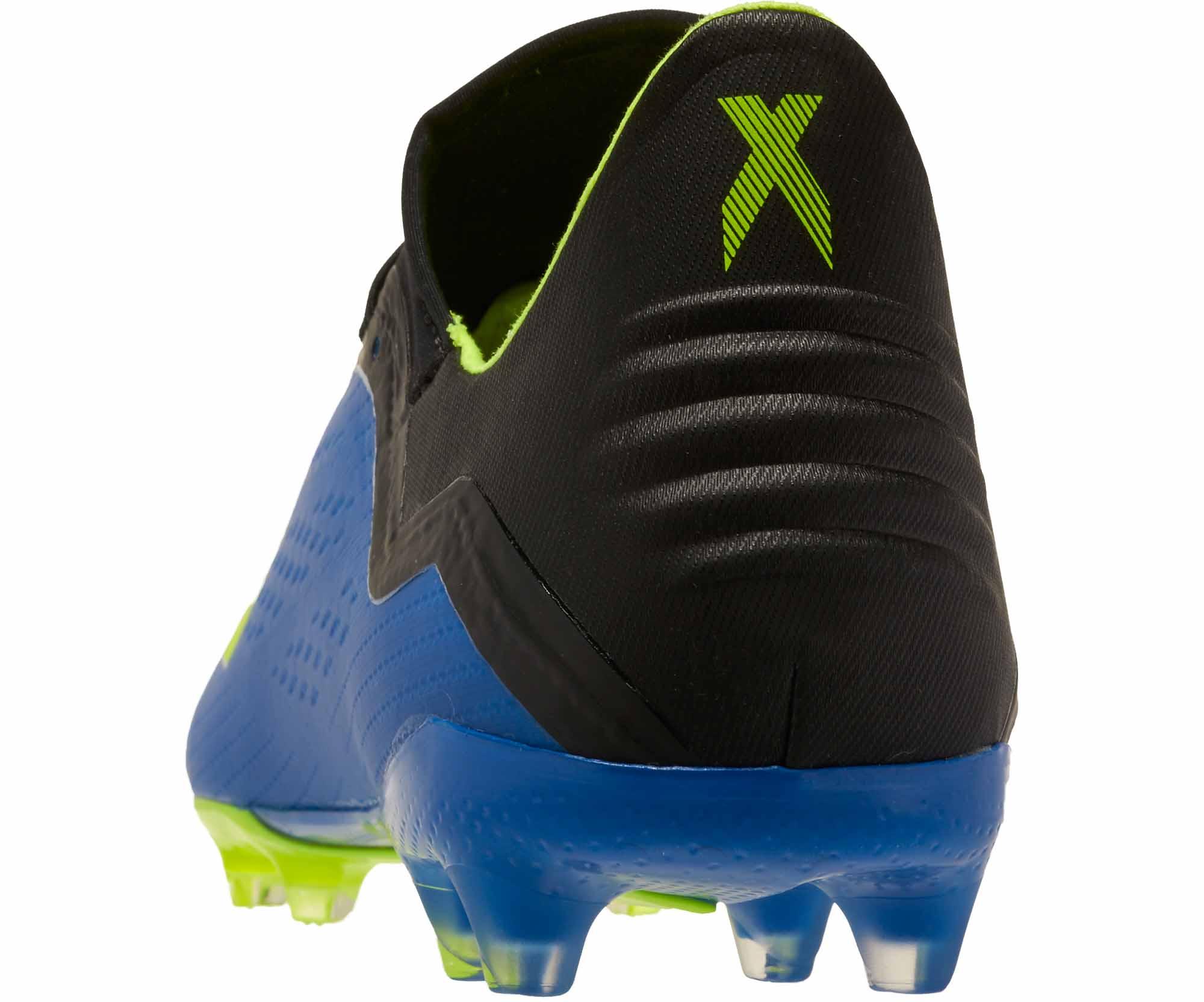 5ab61264440 adidas X 18.2 FG - Football Blue Solar Yellow Black - Soccer Master