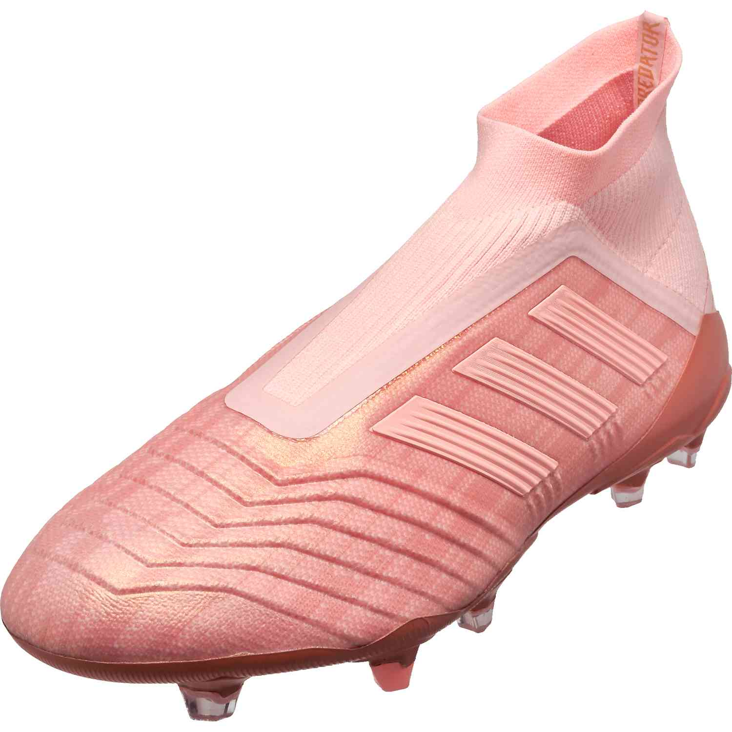 new arrival d31a9 4a383 adidas Predator 18+ FG - Clear Orange/Trace Pink - Soccer ...