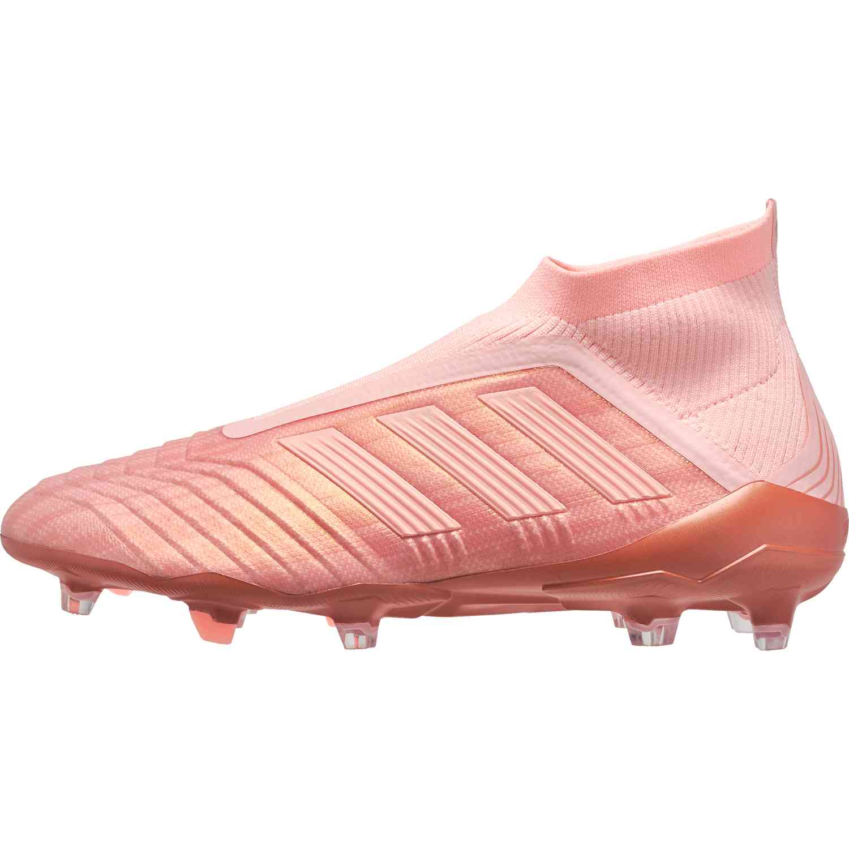 4bdc5d303548 adidas Predator 18+ FG - Clear Orange/Trace Pink - Soccer Master