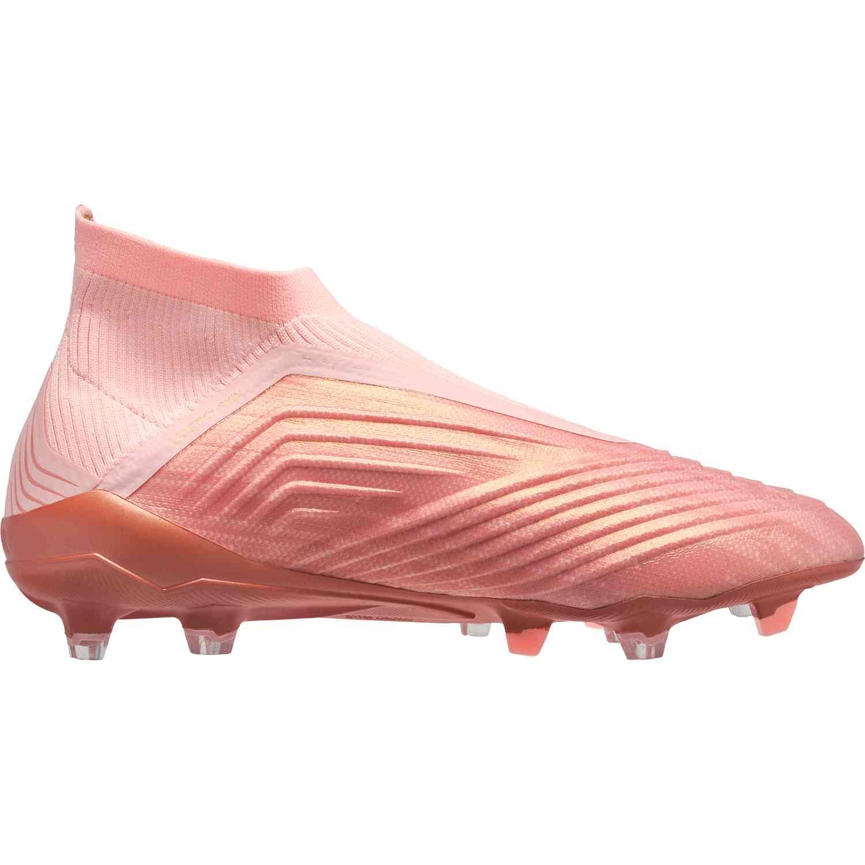 adidas Predator 18+ FG - Clear Orange Trace Pink - Soccer Master e19d7a50c