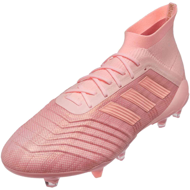 79cd8854fcb adidas Predator 18.1 FG - Clear Orange Trace Pink - Soccer Master