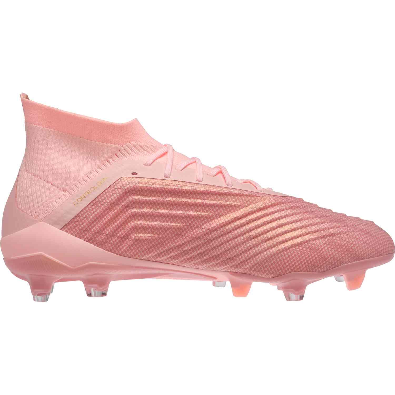 a0fc23290ce7 adidas Predator 18.1 FG - Clear Orange Trace Pink - Soccer Master