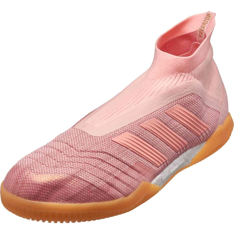 04b34a37857 adidas Predator Tango 18+ IN - Clear Orange Trace Pink - Soccer Master
