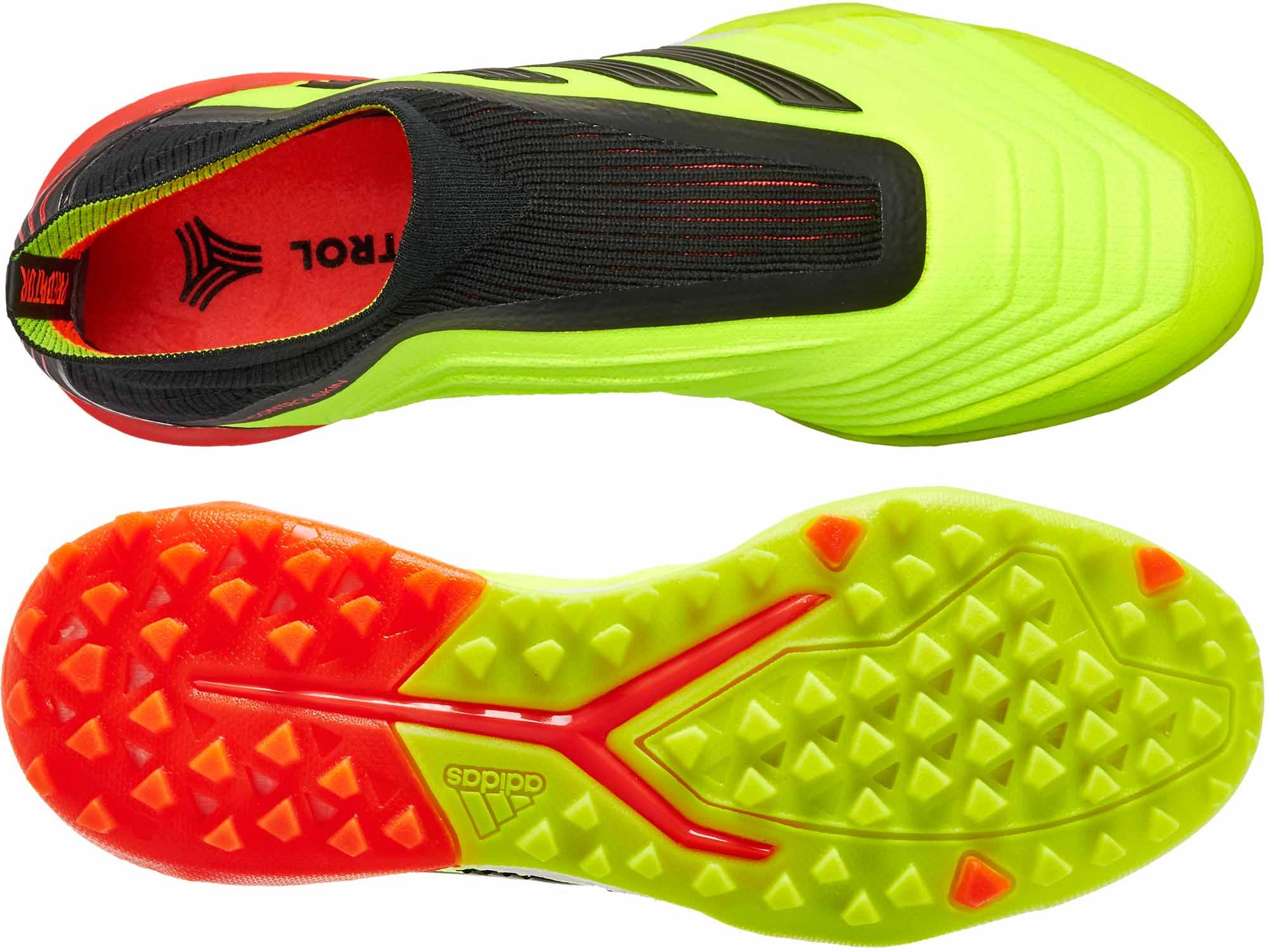 0b11bddc6 adidas Predator Tango 18 TF - Solar Yellow Black Solar Red - Soccer ...