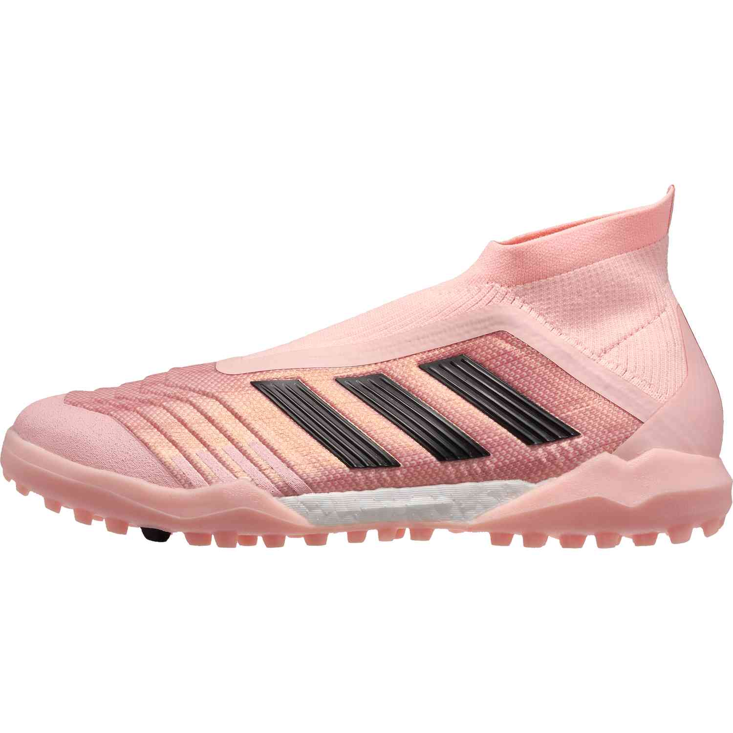 elegant shoes closer at authentic quality adidas Predator Tango 18+ TF - Clear Orange/Black/Trace Pink ...