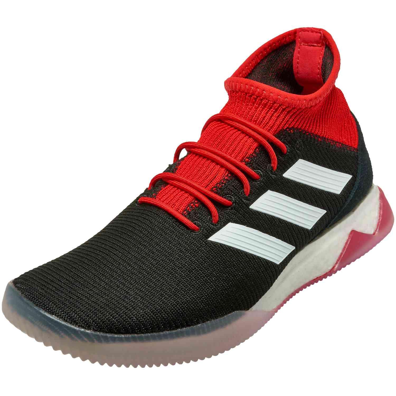 Adidas Predator Tango 18 1 Tr Black White Red Soccer