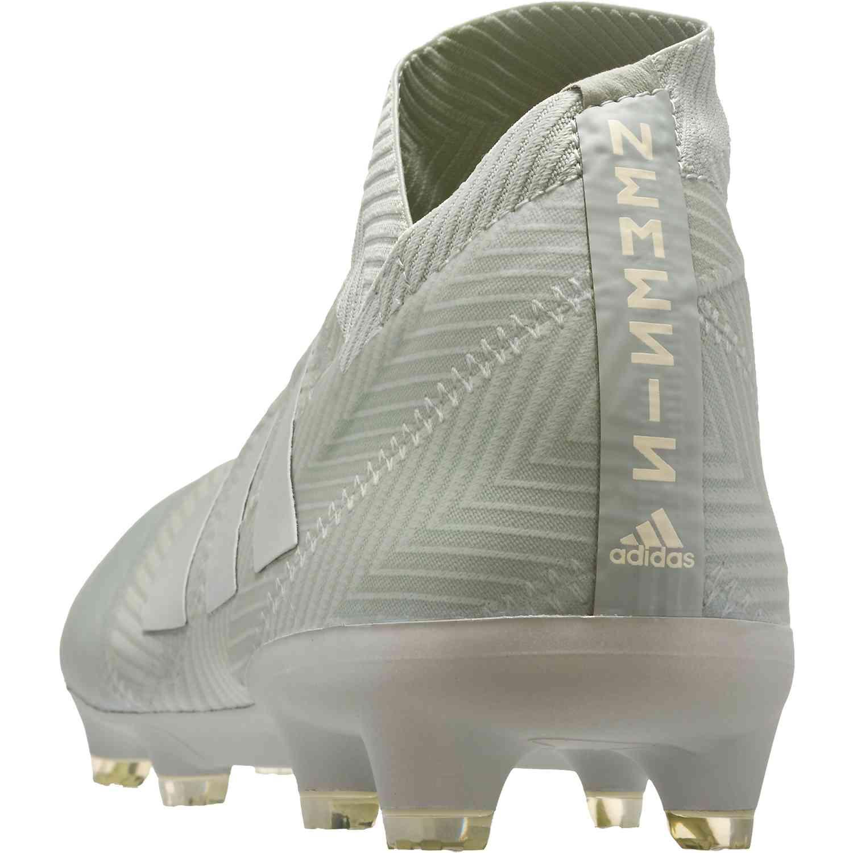 16ddc6b9bfc6 adidas Nemeziz 18+ FG - Ash Silver White Tint - Soccer Master