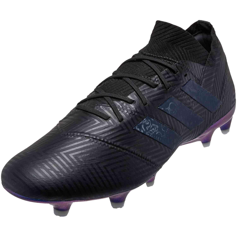 e3ad81294ef3 adidas Nemeziz 18.1 FG - Black Black White - Soccer Master