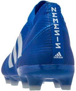 adidas Nemeziz FG Football Bleu Blanc Soccer Master