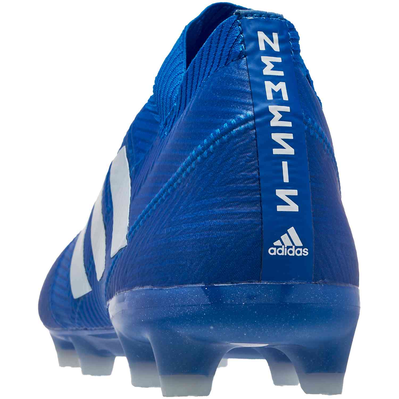 4a0fd653d41 adidas Nemeziz 18.1 FG - Football Blue White - Soccer Master