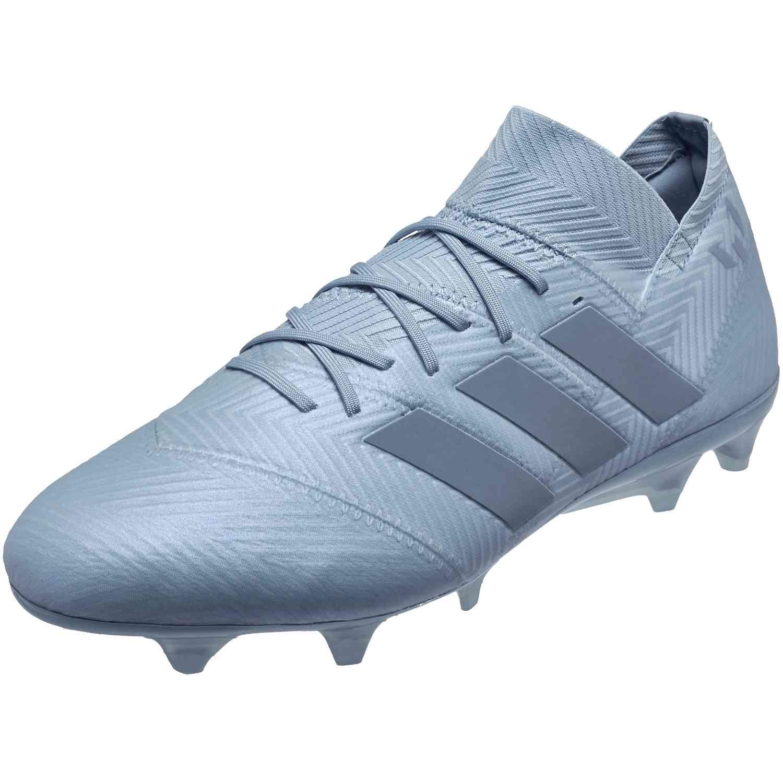 525f49c8a adidas Nemeziz Messi 18.1 FG - Ash Blue Raw Grey - Soccer Master