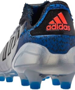 dab9d84338a adidas Copa 18.1 FG - Silver Metallic Black Football Blue - Soccer ...