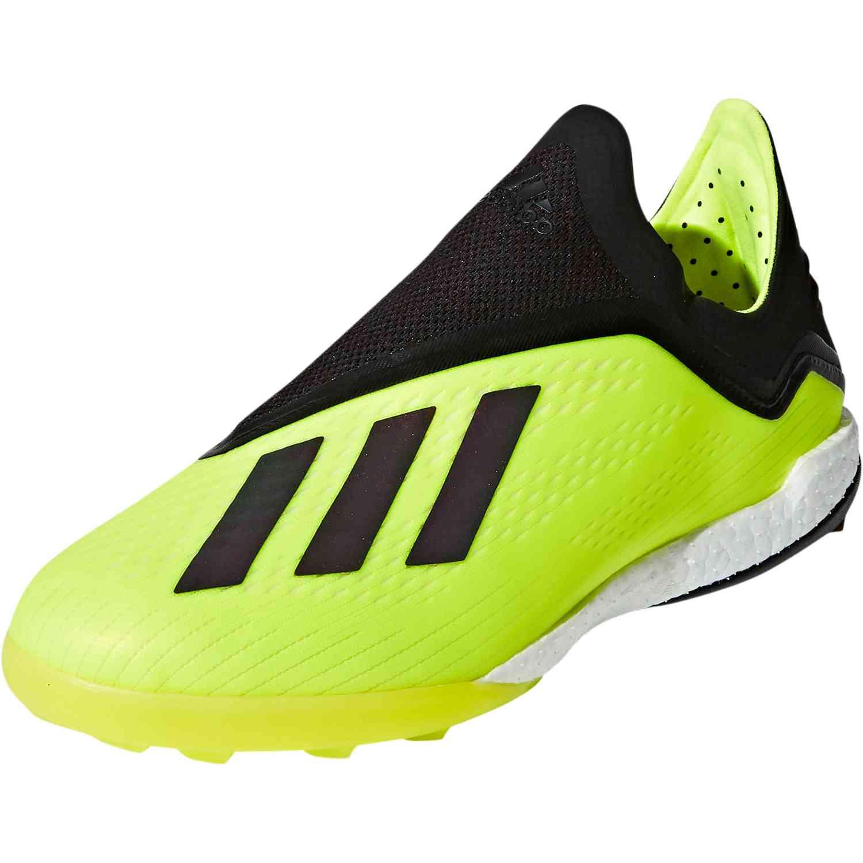 eaf4ebb2a adidas X Tango 18 TF - Solar Yellow Black White - Soccer Master