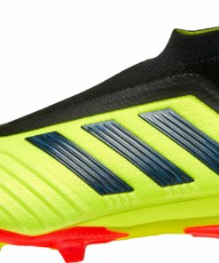 0d0a3a0025e9 adidas Predator 18+ FG - Youth - Solar Yellow Black Solar Red - Soccer  Master