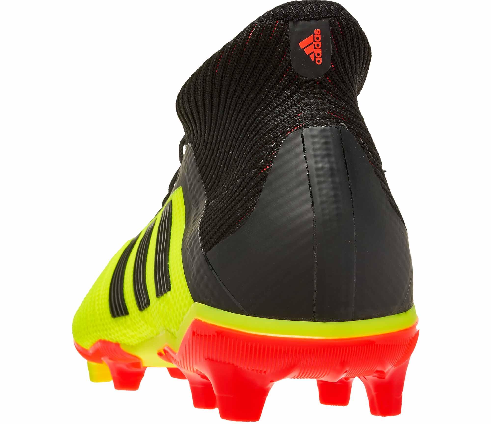 55a4f5c2b Kids adidas Predator 18.1 FG - Solar Yellow/Black/Solar Red - Soccer ...