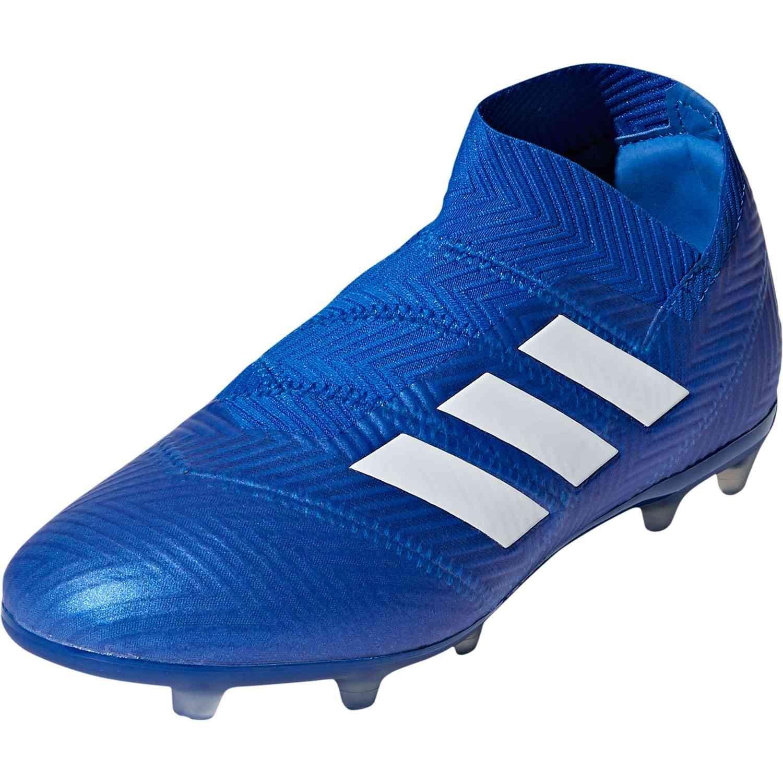 adidas nemeziz  fg youth youth youth football soccer maître bleu / blanc 91af2d