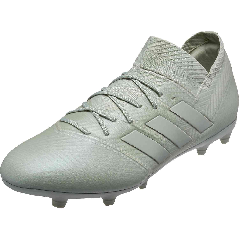 a1b82c6b7698 adidas Nemeziz 18.1 FG - Youth - Ash Silver White Tint - Soccer Master