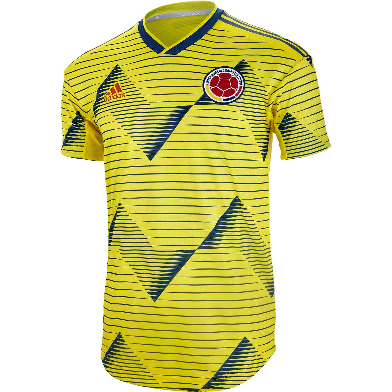 0772dcfe6 2019 adidas Colombia Home Authentic Jersey - Soccer Master