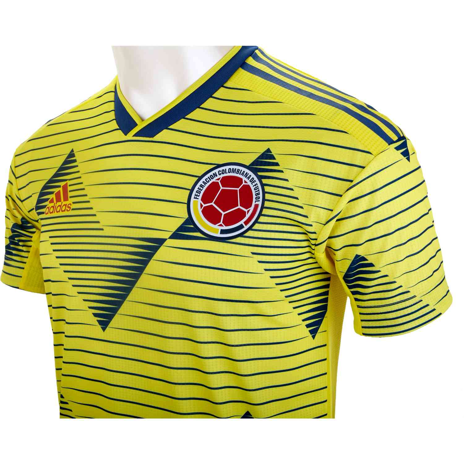 2019 adidas Colombia Home Authentic Jersey