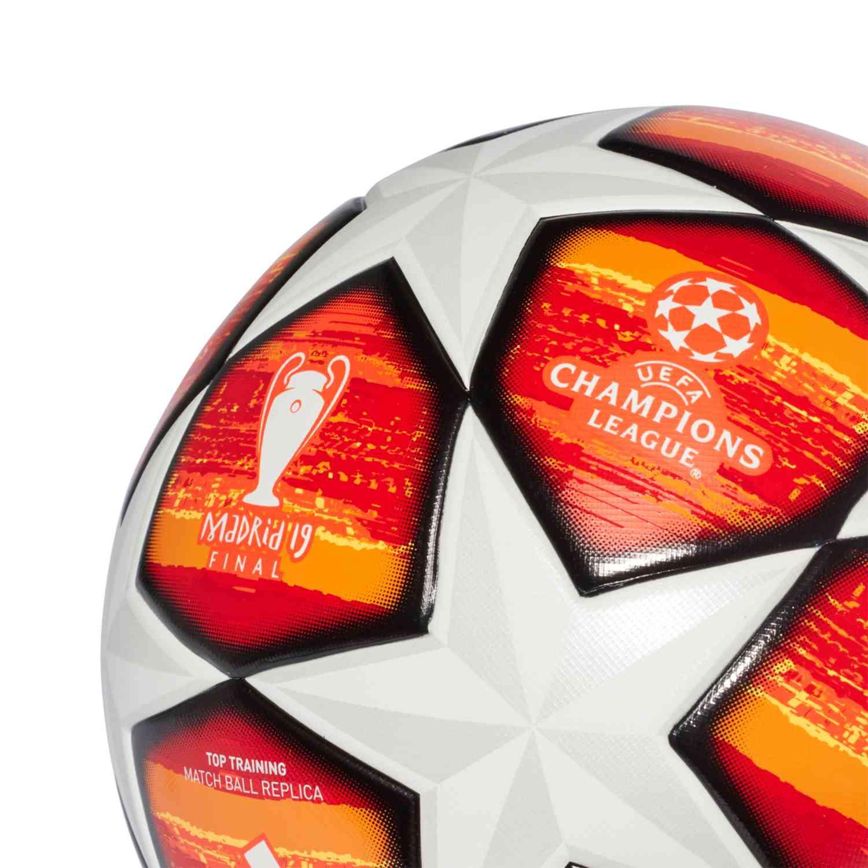 apagado Rafflesia Arnoldi Inferir  adidas Madrid Finale 19 Top Training Soccer Ball - White - Soccer Master