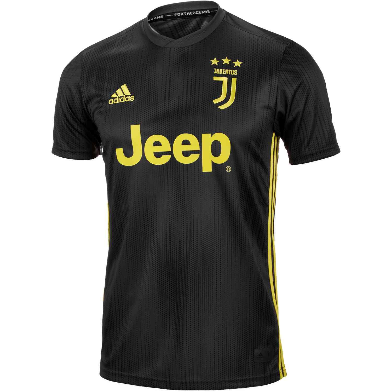 Kids 2018/19 adidas Juventus 3rd Jersey