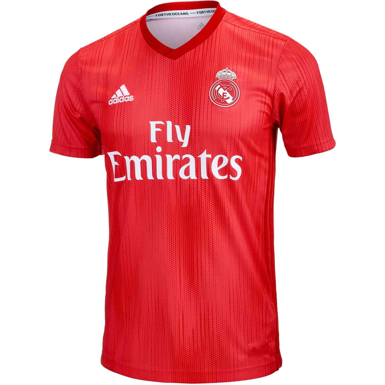 buy popular f0859 35158 Kids 2018/19 adidas Real Madrid 3rd Jersey