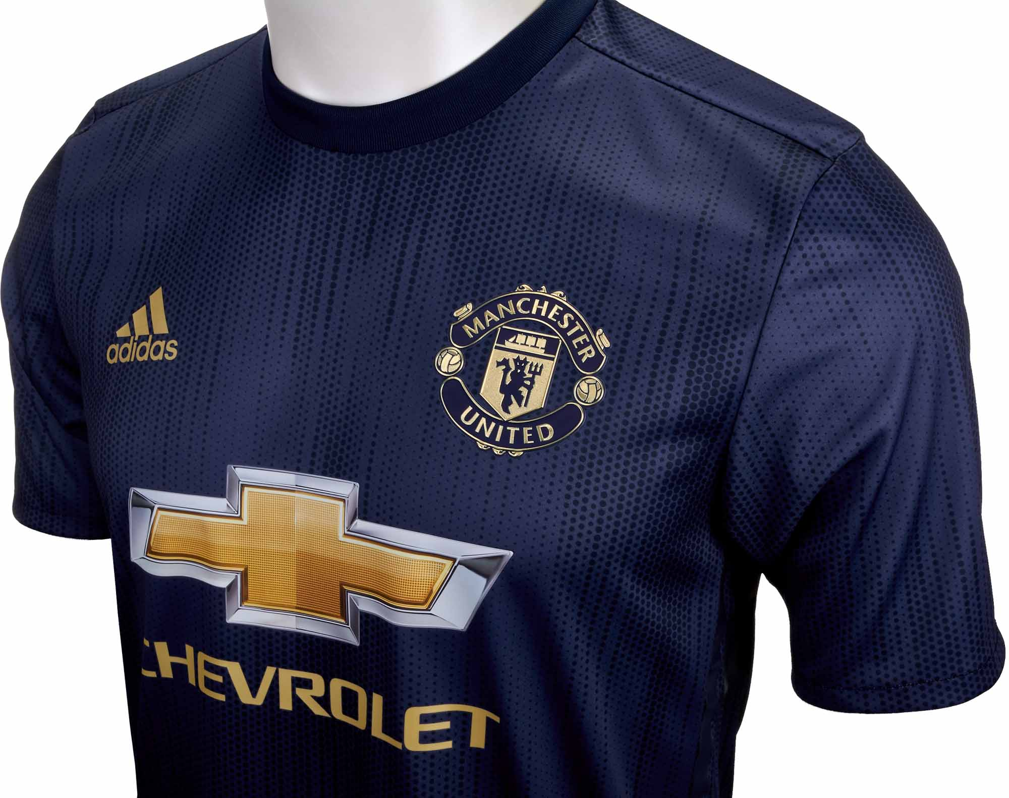 the latest d8243 c13cd adidas Manchester United 3rd Authentic Jersey 2018-19 - Soccer Master