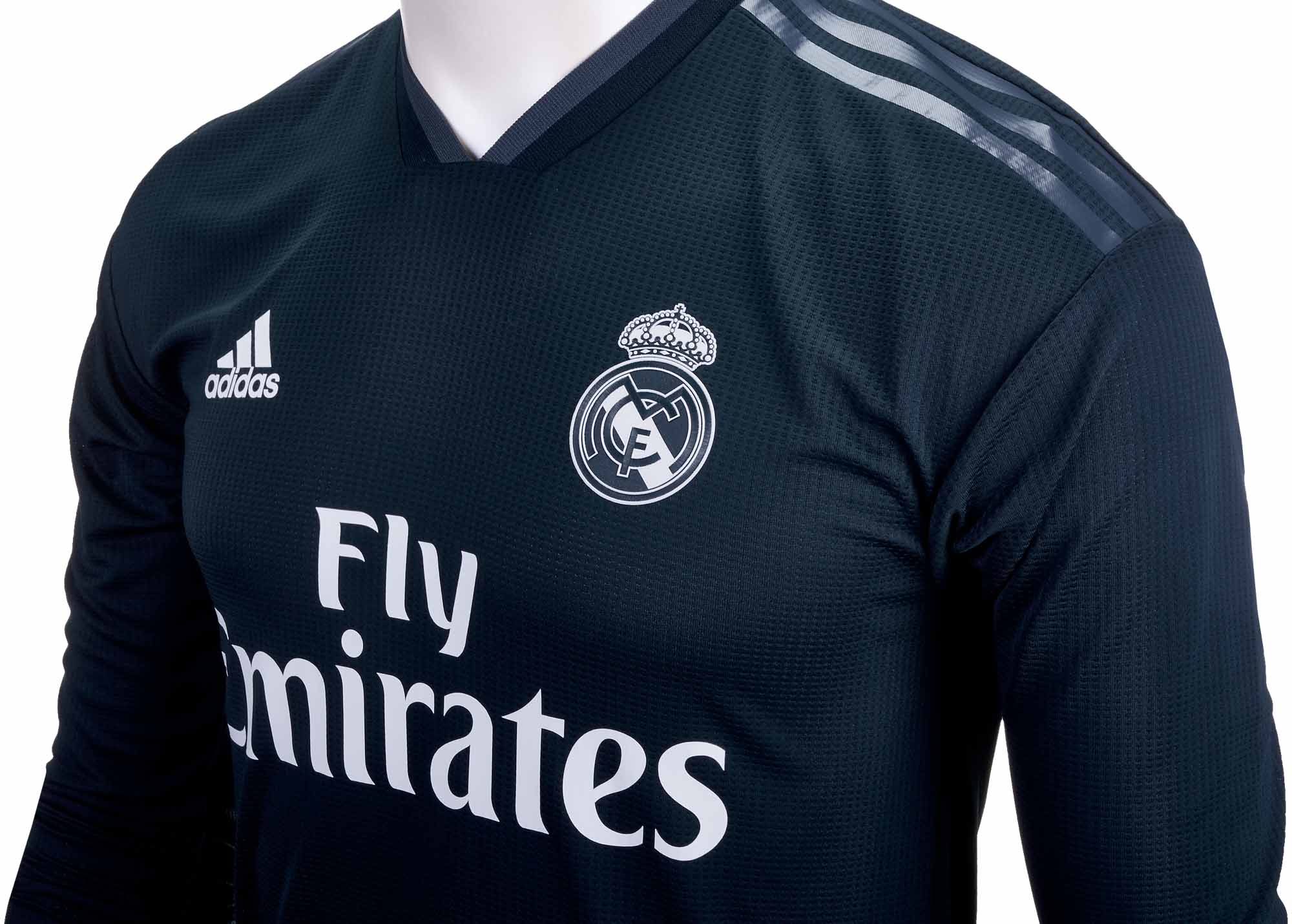 adidas Real Madrid Away Authentic L S Jersey 2018-19 - Soccer Master 2bb3e190d