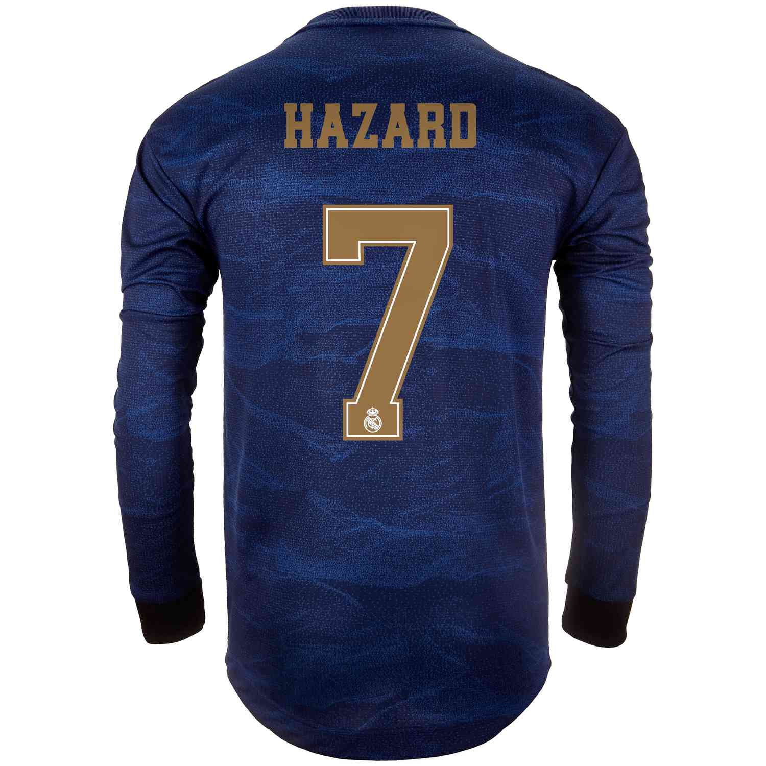 size 40 cd79c cf139 2019/20 Eden Hazard Real Madrid Away L/S Authentic Jersey