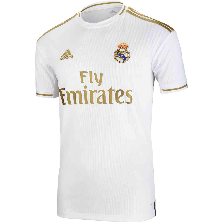 buy popular f42a0 db55d adidas Real Madrid Home Stadium Jersey - 2019/20