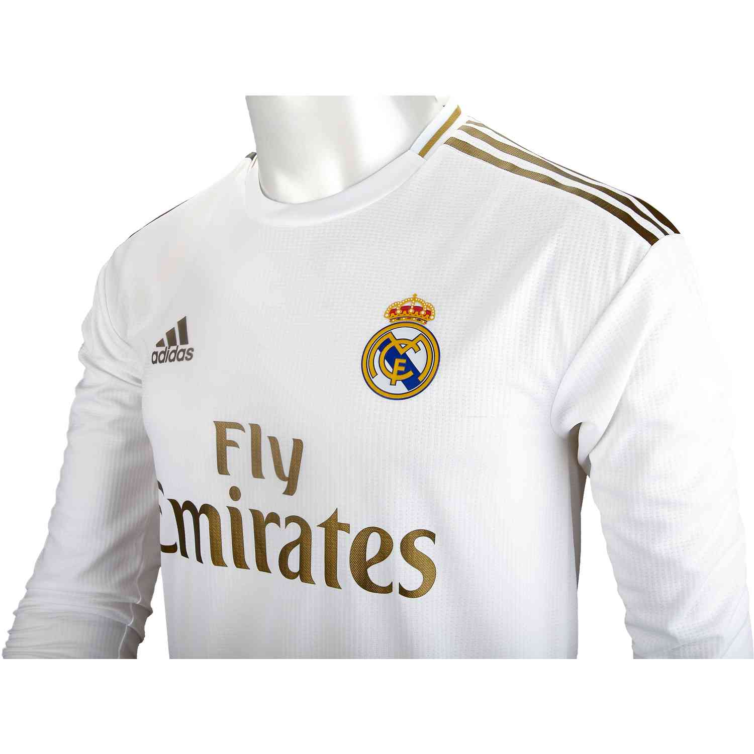 more photos 6e628 08c1a 2019/20 Eden Hazard Real Madrid Home L/S Authentic Jersey - Soccer Master