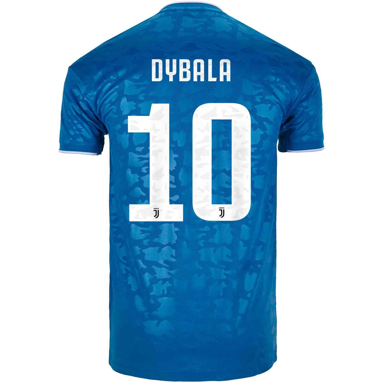 official photos 407e9 4b0bd 2019/20 Paulo Dybala Juventus 3rd Jersey