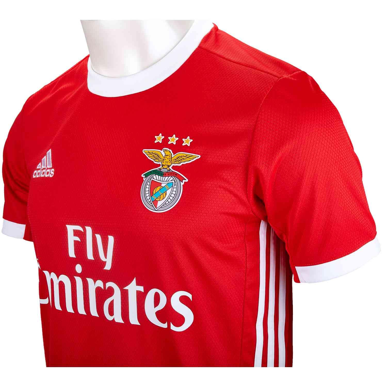 premium selection 0a03e 402d7 adidas Benfica Home Stadium Jersey - 2019/20 - Soccer Master