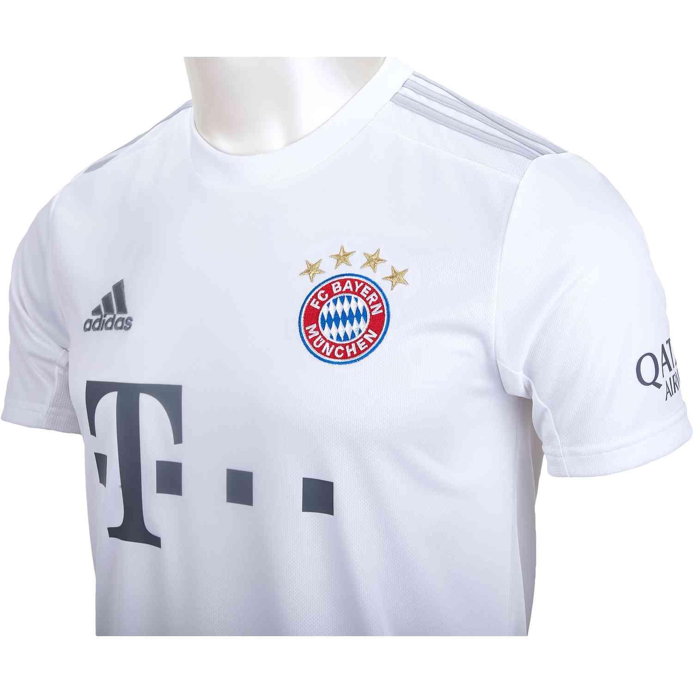 best sneakers 95cb7 ed226 2019/20 adidas Bayern Munich Away Jersey - Soccer Master