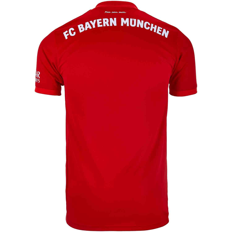 new styles f4108 a93ba 2019/20 adidas Bayern Munich Home Jersey - Soccer Master