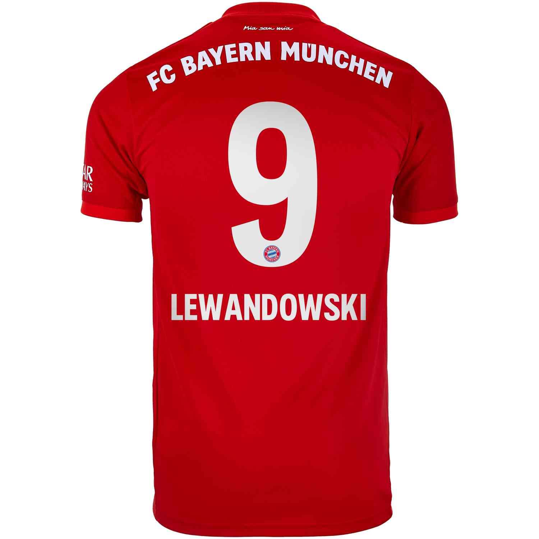 best loved c5450 e234d 2019/20 Robert Lewandowski Bayern Munich Home Jersey