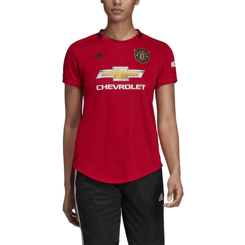 Womens Adidas Manchester United Home Stadium Jersey 2019 20 Soccer Master