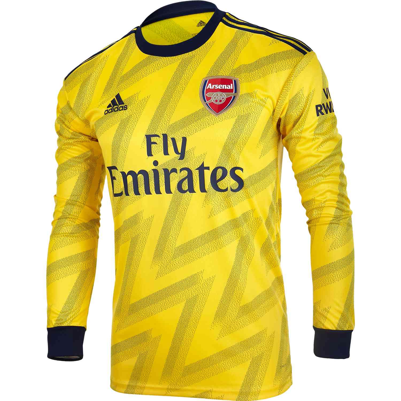 2019/20 adidas Arsenal Away L/S Jersey - Soccer Master
