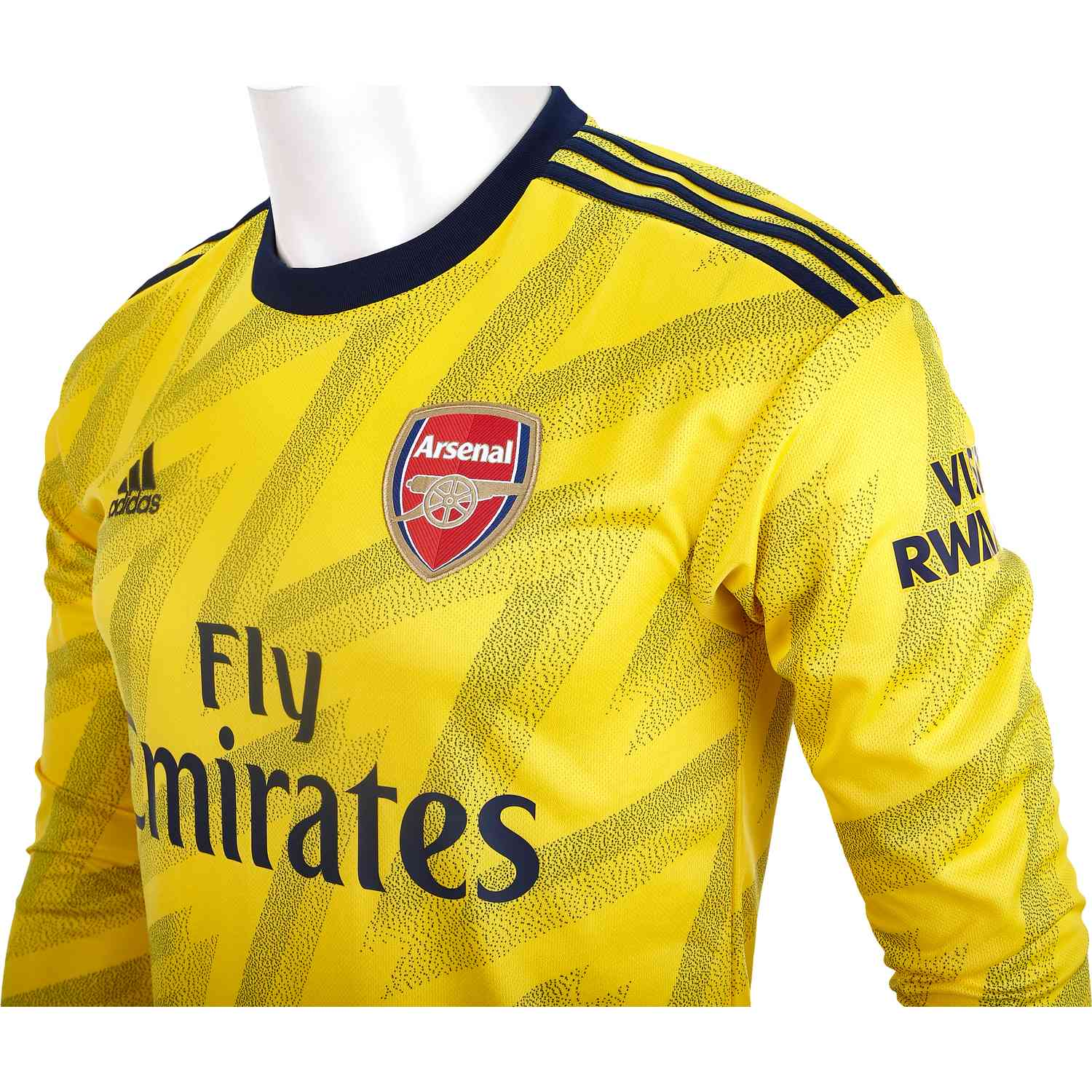 2019 20 Adidas Arsenal Away L S Jersey Soccer Master
