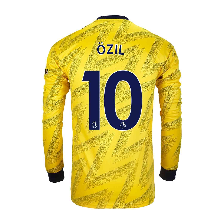 huge selection of 3c9a0 10435 2019/20 Mesut Ozil Arsenal Away L/S Stadium Jersey